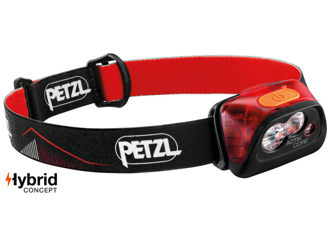 Petzl Actik Core Red Hoofdlamp, red